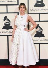 Платье в стиле нью лук белое