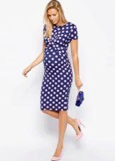 Платье-футляр для беременной