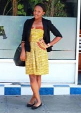 Платье в стиле 50-х в сочетание с жакетом