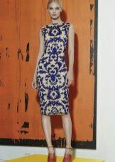 Платье в стиле барокко на каждый день
