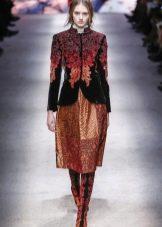 Верхняя одежда под барочное платье