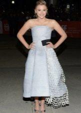 Платье в стиле нью лук для девушек с фигурой типа Перевернутый треугольник