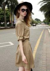 Повседневное платье сафари