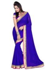 Фиолетовое сари