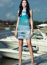 Платье с фотопринтом