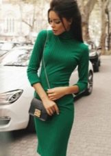 Украинское трикотажное платье