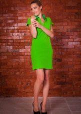 Платье поло трикотажное