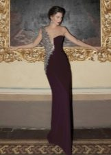Асимметричное платье от Тарик Эдиз