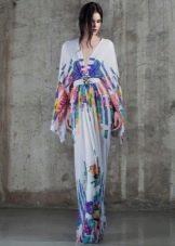 Весеннее платье с длинным рукавом