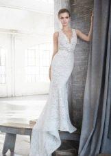 Платье свадебное русалка