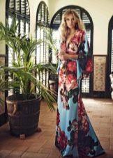 Весенне платье в цветочек