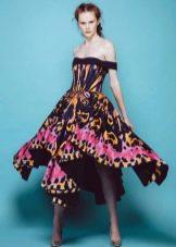 Весенне платье цветастое
