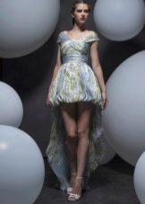 Платье баллон короткое