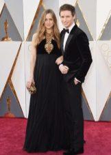 Эдди Редмэйн с супругой Ханной Бэгшоу на Оскаре 2016