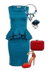 Одежда платье для девушки цветотипа зима