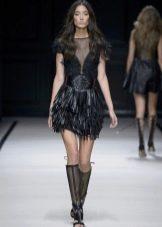Обувь под кожаное платье