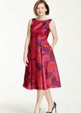 Летнее платье для женщин 50 лет миди