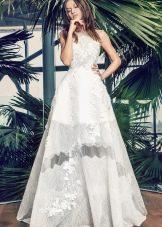 Свадебное платье летнее А-силуэта
