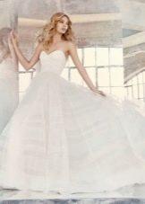 Свадебное платье летнее пышное