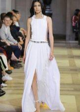 Летнее длинное платье от Каролины Хереры