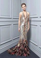 Платье со звериным принтом