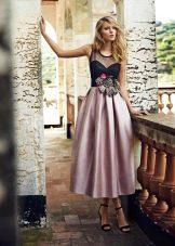 Вечернее  платье ретро