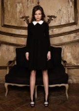 Осеннее платье  черное