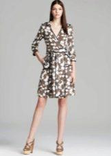 Платье-халат с запахом