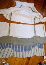 оборки для платья из рубашек