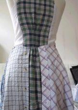 Готовая юбка из клиньев