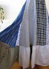 Юбка с оборкаами из рубашки