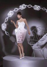 Платье из бумаги открытое