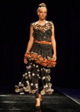 Платье из подручных материалов