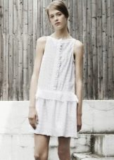 Платье с заниженной талией для фигуры прямоугольник