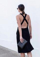Платье-сарафан с открытой спиной