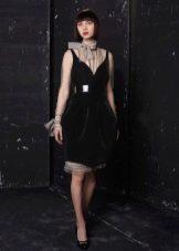 Шерстяное платье вечернее