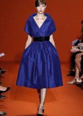 Платье из крепдешина в стиле нью лук