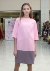 Двухцветное платье стиляги в стиле 60-х