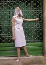 Платье в стиле 60-х и аксессуары к нему