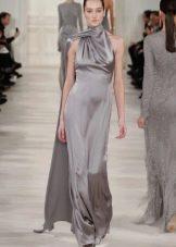 Платье в стиле ретро с американской проймой