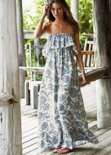 Платье в стиле хиппи летнее
