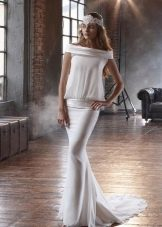 Платье  в стиле 20-х свадебное