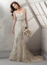 Подвенечное платье айвори