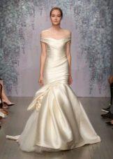 Приталенное  платье свадебное русалка