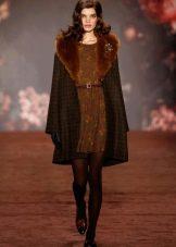 Верхняя одежда под зимнее платье
