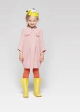 Свободное платье для девочек 3-5 лет