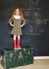 Школьное платье для девочек 6-8 лет
