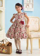 платье-баллон для девочек 6-8 лет