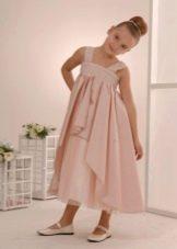 платье с завышенной талией для девочек 3-5 лет