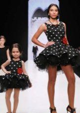 Пышные платья в стиле Family Look